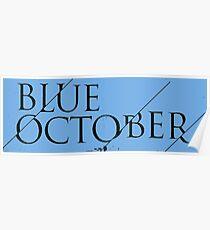 Blue October Broken Mirror Poster