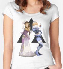 Zelda and Sheik Women's Fitted Scoop T-Shirt
