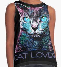 CAT LOVER CRASSCO RUSSIAN BLUE Kontrast Top