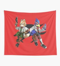 Fox and Falco Wall Tapestry