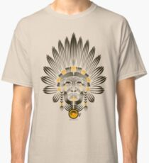 Portrait of American Indian  Classic T-Shirt