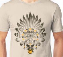 Portrait of American Indian  Unisex T-Shirt