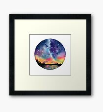 Starry Circle Framed Print