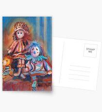 Teddy Bear and Dolls Postcards