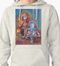 Teddy Bear and Dolls Pullover Hoodie