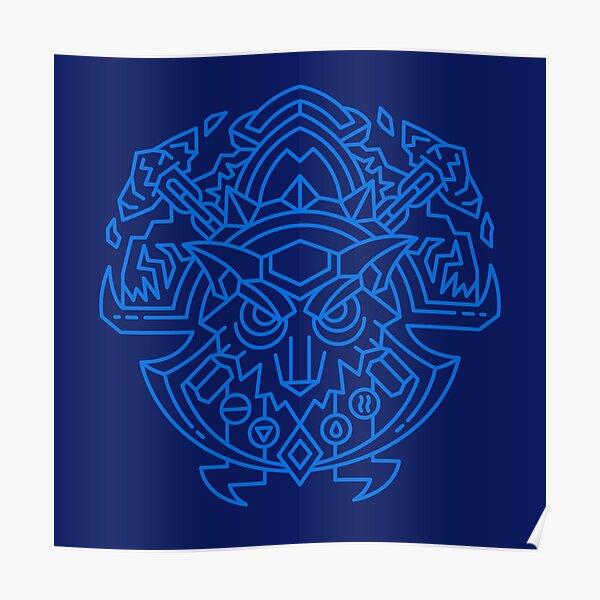 Shaman – Class Crest (color) Poster