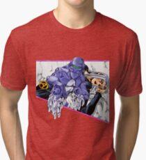 Camiseta de tejido mixto Abbacchio y Moody Blues