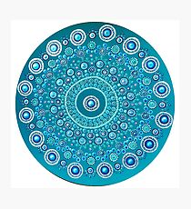 Echinoidea Matrix Mandala Photographic Print