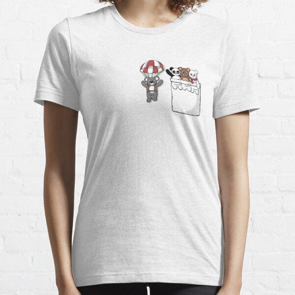Ours de poche mignon T-shirt essentiel