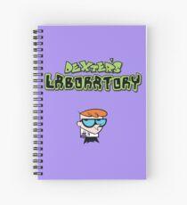 Dex's Lab Spiral Notebook