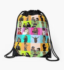 collage. #1651artseries Drawstring Bag