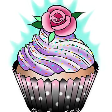 Cupcake  by KrissyTattoos03