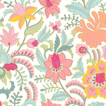 Flowery Pastel Hue by mightycloud