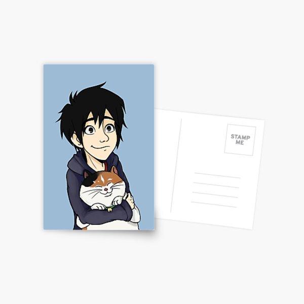 Hiro and Mochi Postcard
