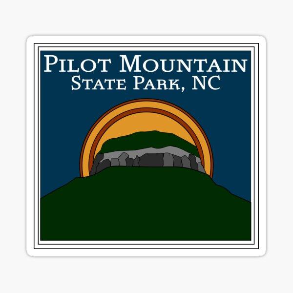 Pilot Mountain State Park, North Carolina (NC) Sticker