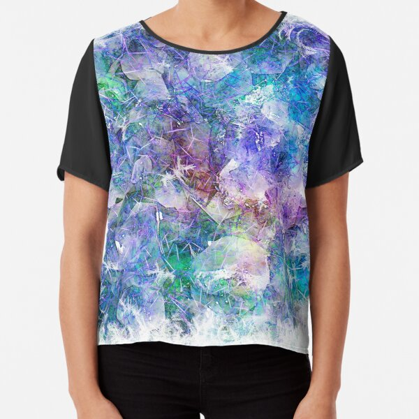Crystal Frost 1 Chiffon Top