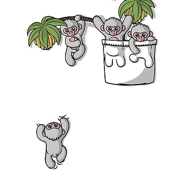 Cute Pocket Monkeys  by seteki