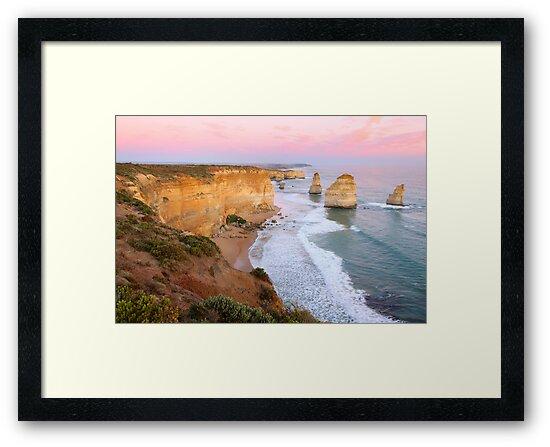 The Twelve Apostles, Great Ocean Road, Australia by Michael Boniwell