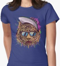 Basyide Tigers Women's Fitted T-Shirt