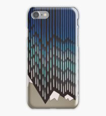 Abstract Majestic Rainy Mountains iPhone Case/Skin