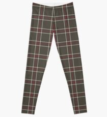 Shujin Academy Plaid Uniform Pattern - Persona 5 Leggings