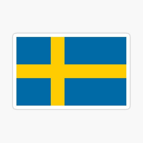 Official Flag of Sweden Sticker