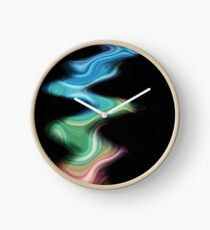 hues and waves Clock