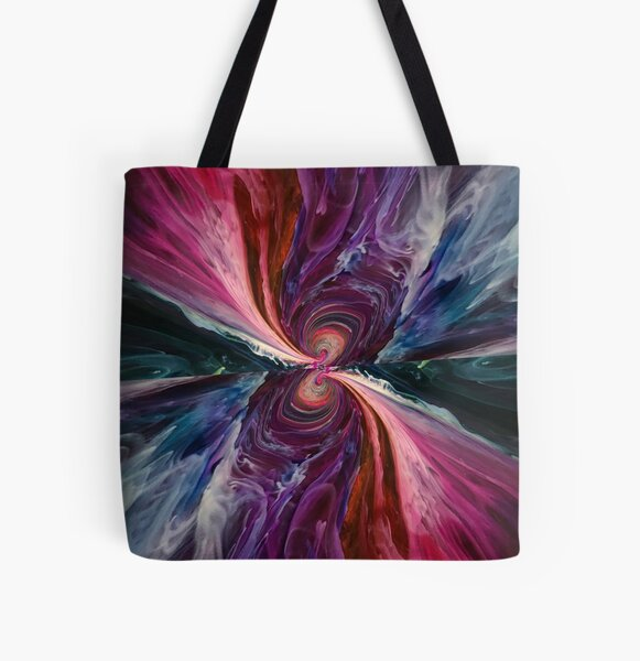 Tunnel Vision All Over Print Tote Bag