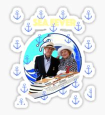 Richard and Hyacinth Sea Fever Sticker