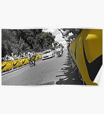 Tour de France Prologue, London Poster