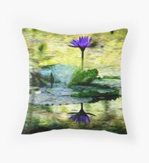 Spring Swirlings 2 Throw Pillow
