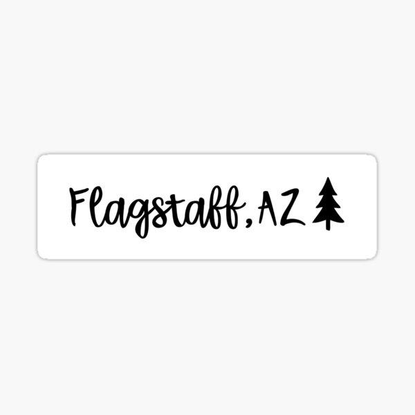 Flagstaff, AZ Sticker Sticker