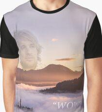 WOW - Owen Wilson Grafik T-Shirt