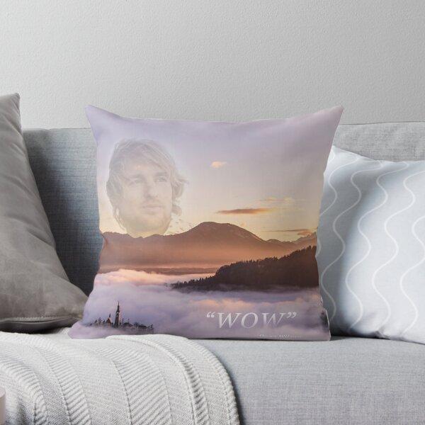 WOW - Owen Wilson Throw Pillow