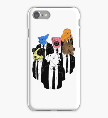 Real Reservoir Dogs sticker iPhone Case/Skin