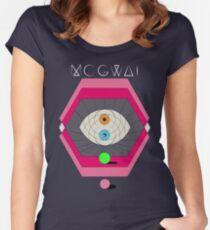 MOGWAI'S EYES Women's Fitted Scoop T-Shirt