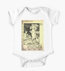 The shepheard's calender twelve aeglogues proportionable to the twelve monethes Newly adorned with twelve pictures and other devices by Walter Crane 1898 91 - August One Piece - Short Sleeve