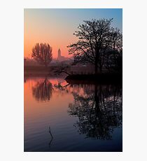 Misty Dawn Sydenham Photographic Print