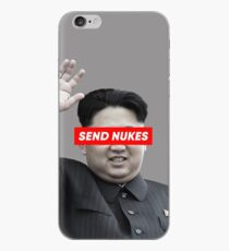 Send Nukes (North Korea Parody) iPhone Case
