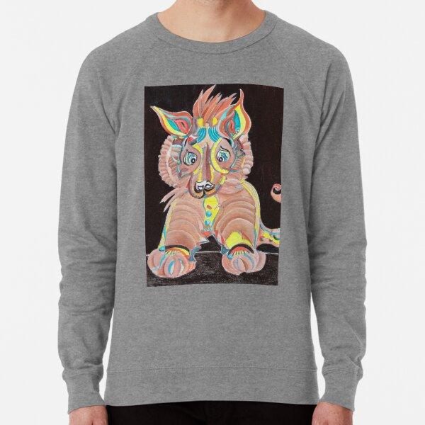 Tiger Dog Lightweight Sweatshirt