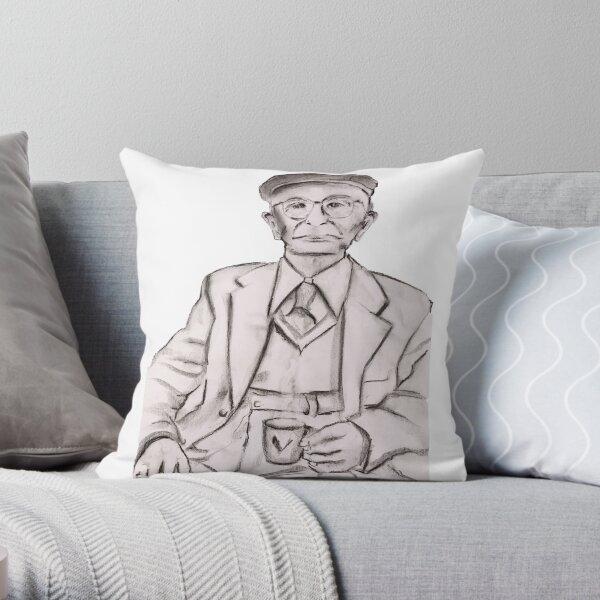 Coffee Connoisseur Throw Pillow