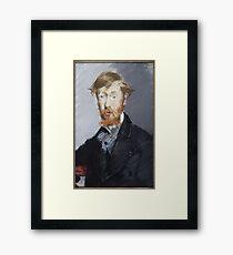 George Moore (1852–1933)  Framed Print