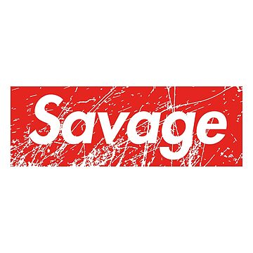 Savage Red Square Grunge Background by poisondesign