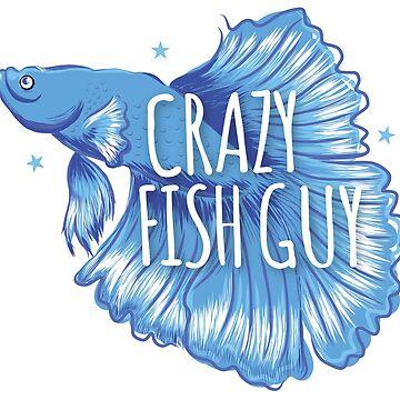 Crazy fish guy by jazzydevil