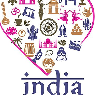 INDIA IS AN EMOTION by CUPIDDESIGNS