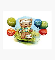 Get Well Soon Balloons Photographic Print