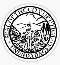 Seal of Utica Sticker