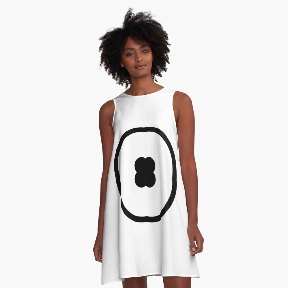 Circle, Modish, original, ingenious, novel, own, individual, unorthodox, refined A-Line Dress