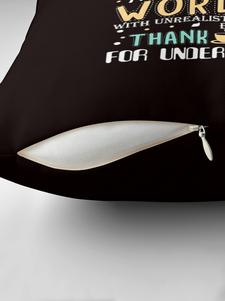 Alternate view of Book Lover Throw Pillow