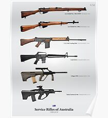 Service Rifles of Australia Poster